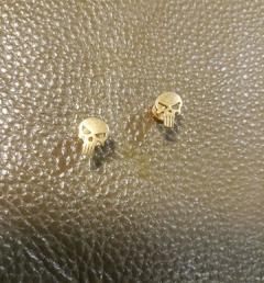 обеца череп 008