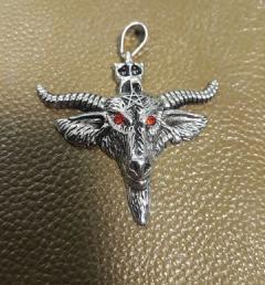 медальон пентаграм 20