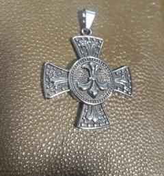 медальон кръст 025