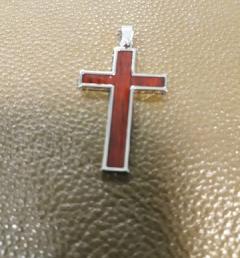 медальон кръст 017