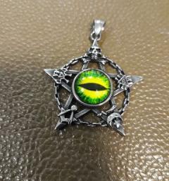 Медальон пентаграма 10