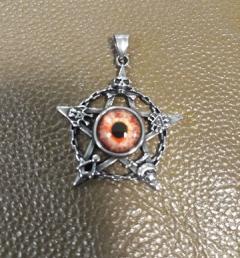 Медальон пентаграма 20
