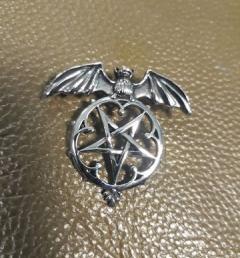 медальон пентаграм 001