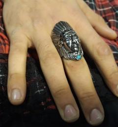 стоманен пръстен 15