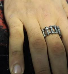 стоманен пръстен 11