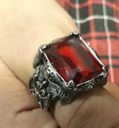 стоманен пръстен 07