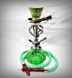 зелено наргиле 04