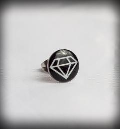 обеца с диамант 01