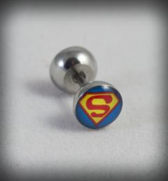 обеца  със супермен 40