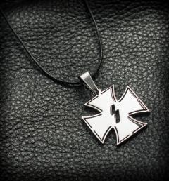 стоманен медальон 44