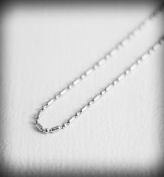 ланец сребро 058