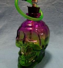 цветен стъклен бонг 02