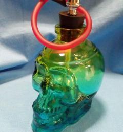 цветен стъклен бонг 01