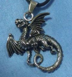 медальон дракон 030