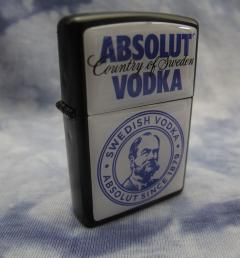 запалка на vodka Absolut 01
