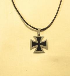 стоманен медальон 30