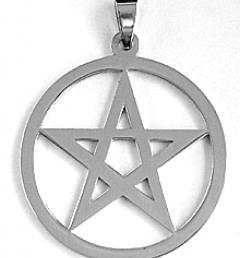 пентаграм медальон