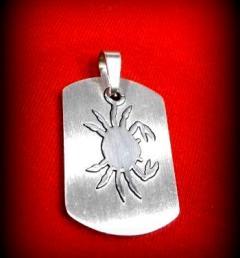 стоманени медальони 12