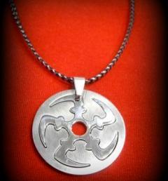 стоманени медальони 18