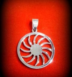 висулка медальон 17