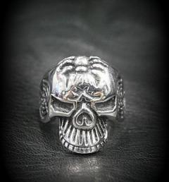 пръстен череп 019
